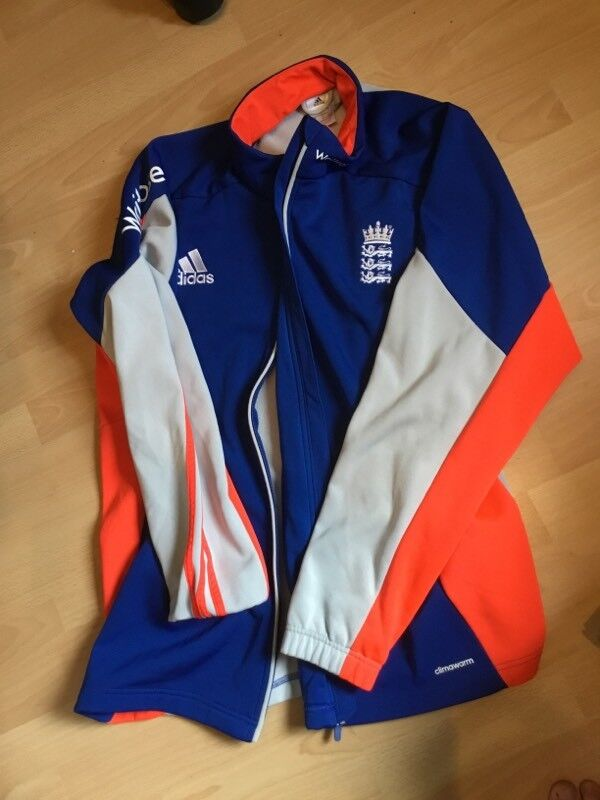 Adidas England Cricket Fleece Training Jacket - Mens 2XL - Excellent Condition