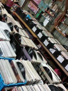 OPEN THANKSGIVING HOLIDAY MON. 12- 6PM. TONS OF RECORDS, CDS, +