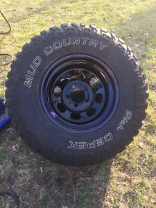 31x10.5r15 tires and rims