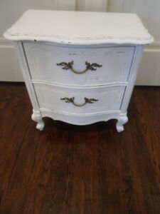 French Provincial Night or End Table