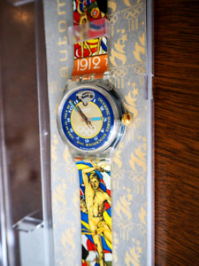 *NEW* AUTOMATIC SWATCH Olympic Games Stockholm 1912 Watch