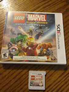 Lego Marvel Super Heroes 3ds game
