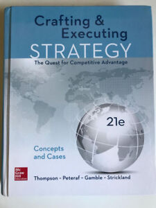 Crafting&Executing Strategy-The quest for Competitive Advantage
