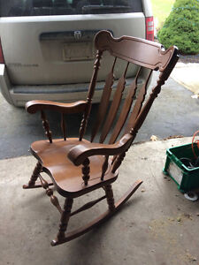 Large Size - well built solid Rocking Chair $100