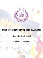 2016 Miss International City Pageant Contestants (Awards $1000)