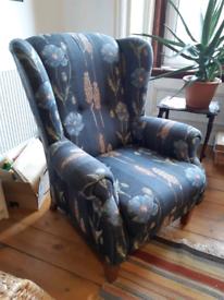 vintage wingchair