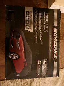 Brand new in box-Never opened car cover