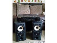 Marantz pm57 amp also Mission 701 speakers