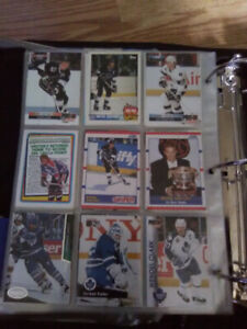 Selling all of my hockey cards, want to get rid of them.. Make o