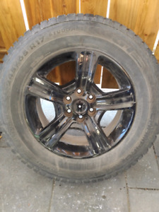 Mag 17 Pouce DW 7417015 ( GMC - Chevrolet-Cadillac- 6x120)