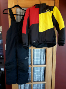 Youth Skidoo Brand Snowmobile Suit
