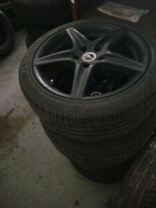 215/45/R17 Kumho solus tires on Sport Alloy rims