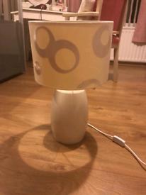Beleek table lamp