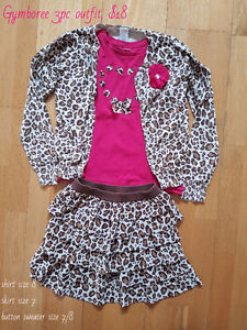 Gymboree girls outfit 7/8