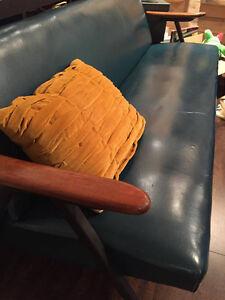 Ensemble Divan + 2 fauteuils VINTAGE Unique