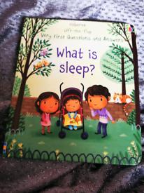 What is sleep - usborne board book