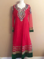 Indian/Pakistani Anarkali/straight Party wear outfits