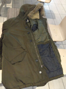 Fur Parka Immediate sell $75 Can Resell.