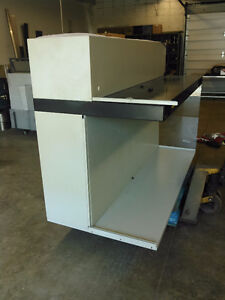 6' Industrial vent Hood with inspection table