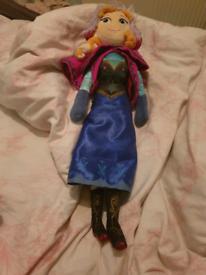 Frozen Anna plush doll