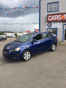 2014 Chevrolet Sonic LT with only 81,504kms!