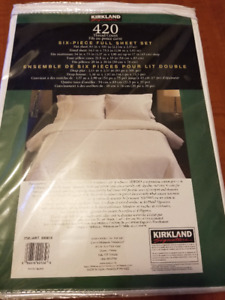BNIB Double bed sheets - In Kamloops not Vernon.