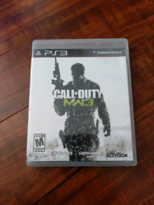 Call of Duty Modern Warfare 3 for ps3 $5