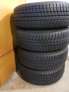 Michelin X-Ice 3 Snow Tires and Rims
