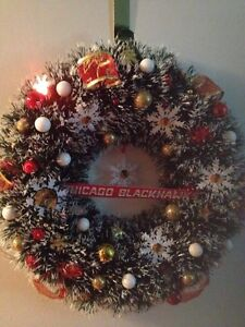 Hockey Christmas wreaths Cornwall Ontario image 3