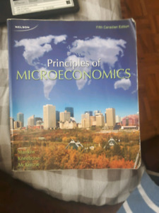 Principles of Microeconomics 5th Canadian edition