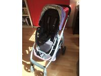 Uppababy Cruz stroller/pushchair/pram