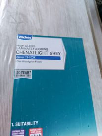Gloss laminate brand new 8mm
