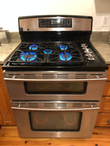 Jenn-Air JDR8895AAS Dual-Fuel Double Oven Range