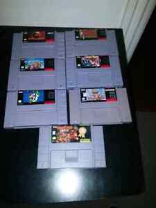 Collection of SNES Games - can be sold individually