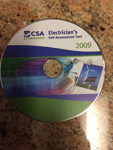 CSA electrician's self assessment tool 2009 CD