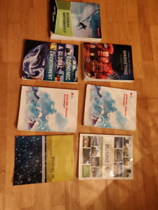 First year NSCC business Administration books
