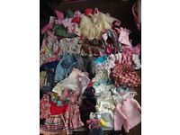 Baby girl 3-6 clothes . 100+ items