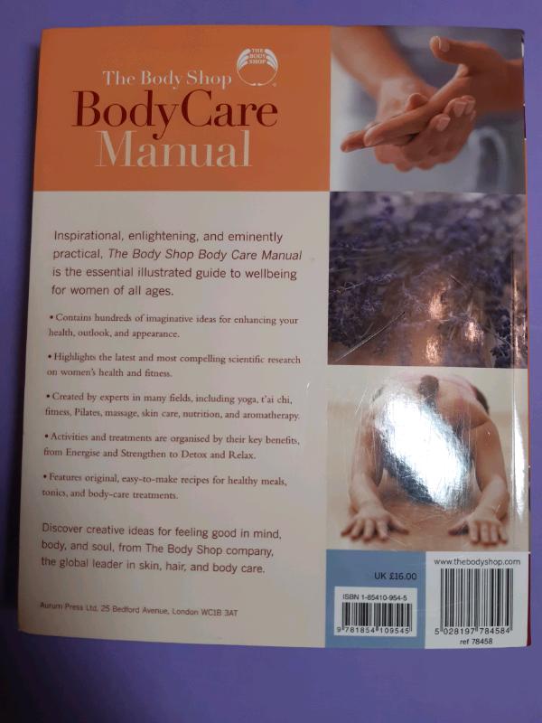 The body shop body care manual: susan e. Davis body shop staff.