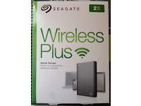 Seagate Wireless Plus 2TB HDD