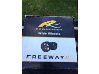 Powakaddy wide winter wheels