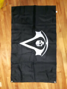 Drapeau de pirate Assassin's Creed Black Flag