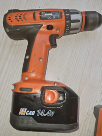Aeg drill and powerbase battery charger