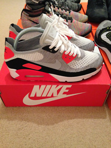 Nike Air Max 90 (Infrared/Flyknit)