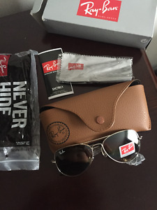 Selling a pair of Sunglasses Ray Ban Aviator or pilot.  Brand Ne