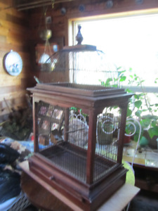 ANTIQUE VICTORIAN BIRD CAGE FOR SALE