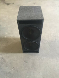 Kicker Speakers + box