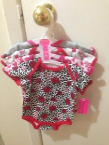 Betsey Johnson Printed Bodysuits - Set of 4 New