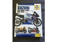 Suzuki gsxr 600, 750 & 1000 Haynes Manual '01-'02