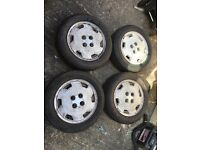 "Toyota Corolla GT AE82 genuine 14"" alloys. Not ae92 ae86 4age aw11"