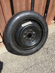 Honda 1992 emergency spare tire - LIKE NEW